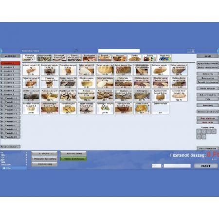 1-Számlázó és raktárkezelő szoftver/2-Éttermi rendszer