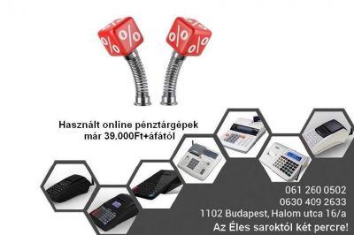 Használt online pénztárgépek