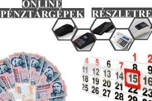 Online pénztárgépek részletre