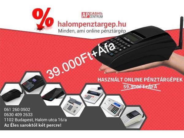 Használt Online Pénztárgép