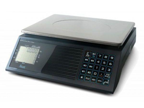 Árszorzós mérleg ACLAS PS1B 15kg