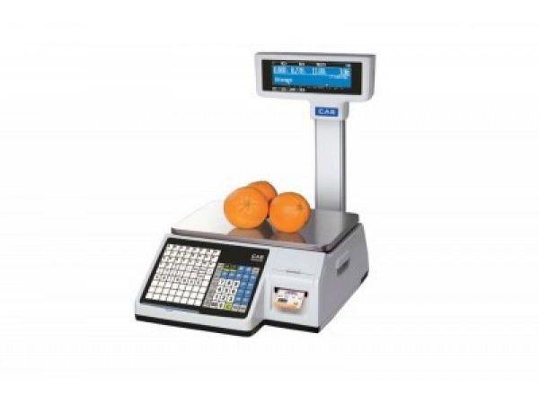 Címkézős rendszer mérleg CAS CL5200P